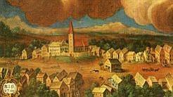 alte Dorfansicht