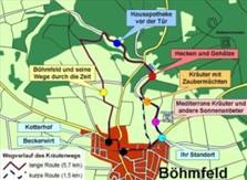 Kräuterweg Route